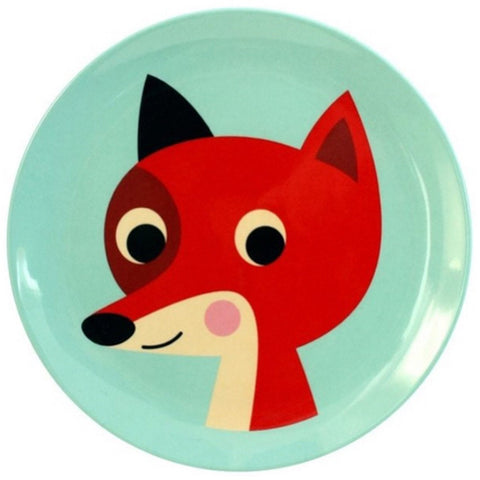 OMM Design Mint Fox Plate