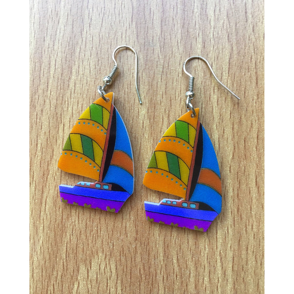Sail Away Earrings - Kläder and Hem