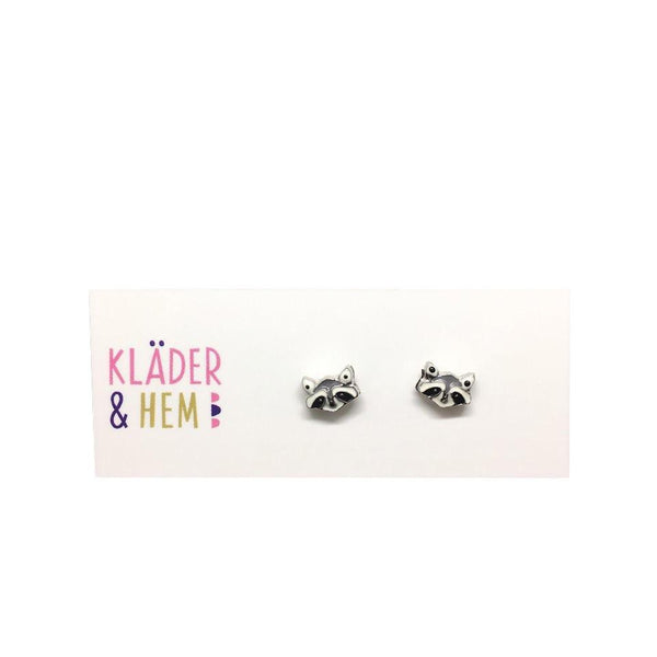 Ronald the Raccoon Earrings - Kläder and Hem