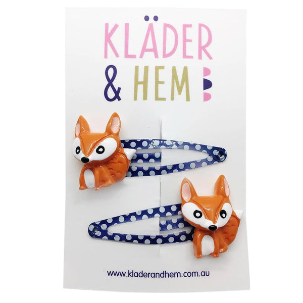 Freddy & Felix Fox Hair Clip - Kläder and Hem