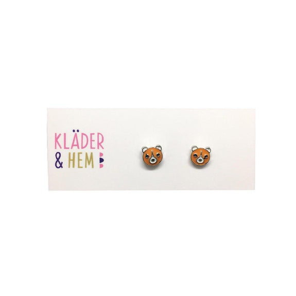 Beary Cute Earrings - Kläder and Hem