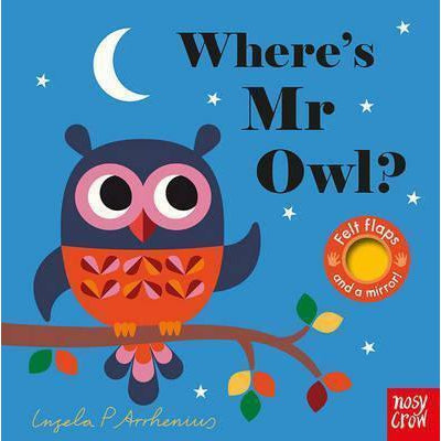 Where's Mr Owl Board Book - Kläder and Hem