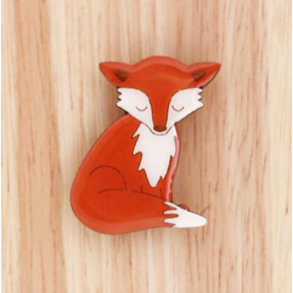 Woodland Fox Brooch - Kläder and Hem