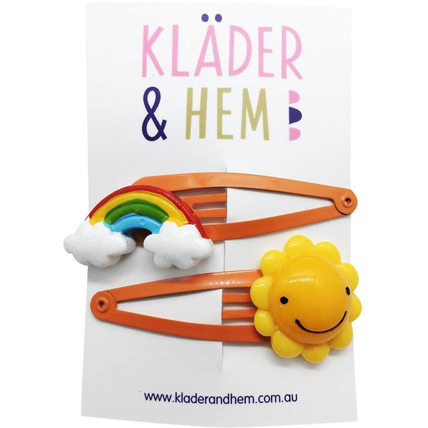 Sunshine & Rainbows Hair Clip - Kläder and Hem