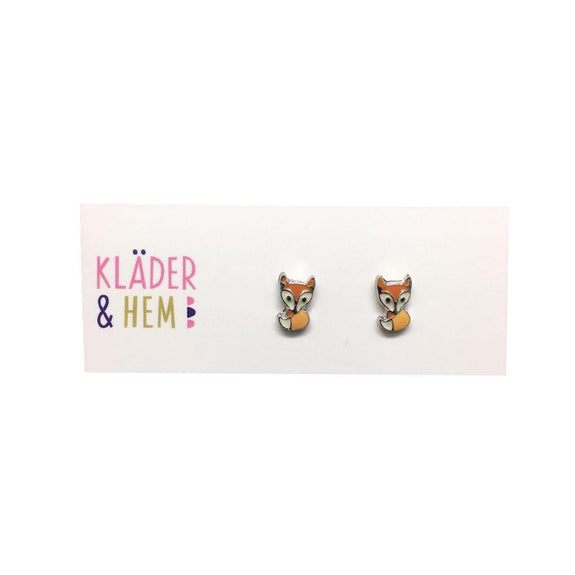 Artful Fox Earrings - Kläder and Hem