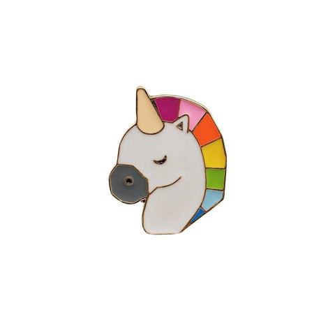 Ursula the Unicorn Enamel Pin