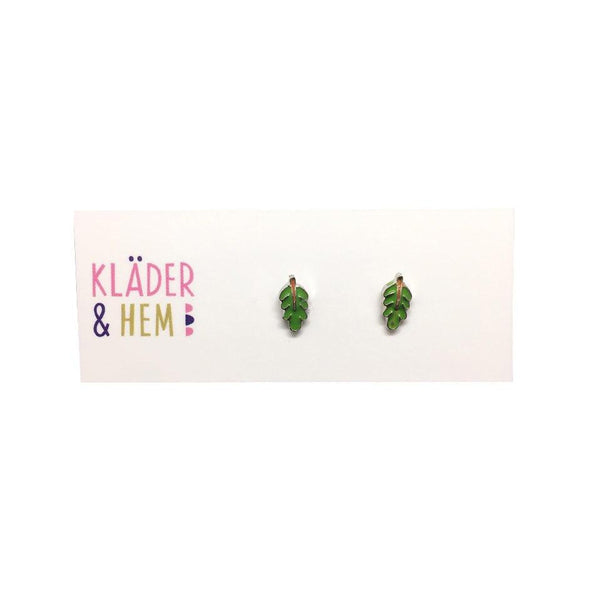 Acorn Leaves Earrings - Kläder and Hem