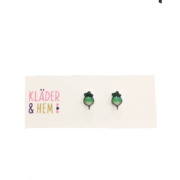 Radish Delight Earrings - Kläder and Hem