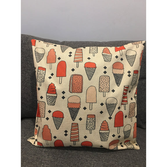 Anything is Popsicle Cushion Cover - Kläder and Hem