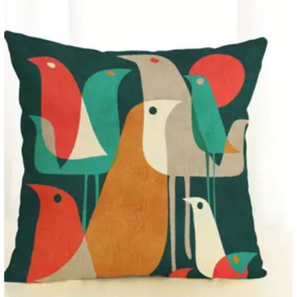 Birds of a Feather Cushion Cover - Kläder and Hem