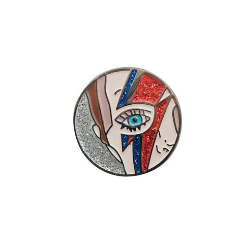 David Bowie Legend Enamel Pin