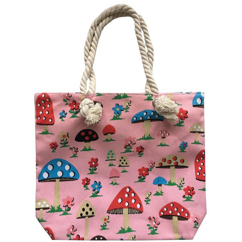 Fairy Village Pink Carry Bag