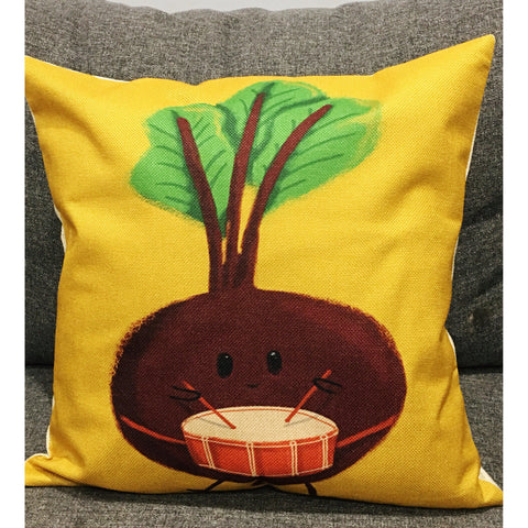 The Beet Goes On Cushion Cover