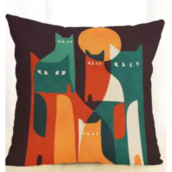 The Cats Meow Cushion Cover - Kläder and Hem