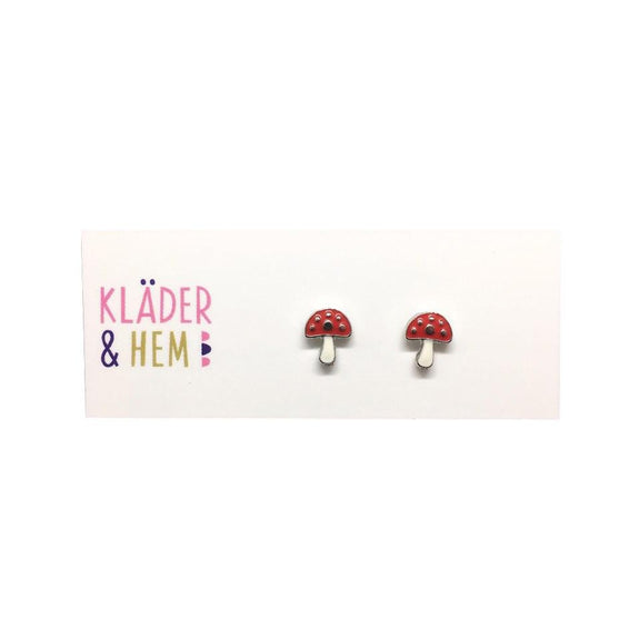Fairy Toadstool Earrings - Kläder and Hem