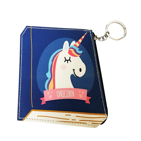 Unicorns Are Real Book - Coin Purse - Kläder and Hem
