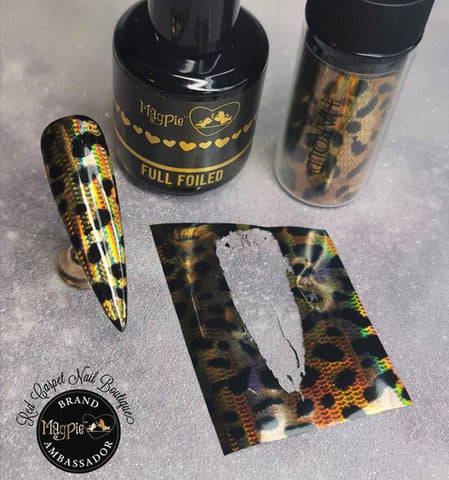 Full Foiled - full foil transfer gel