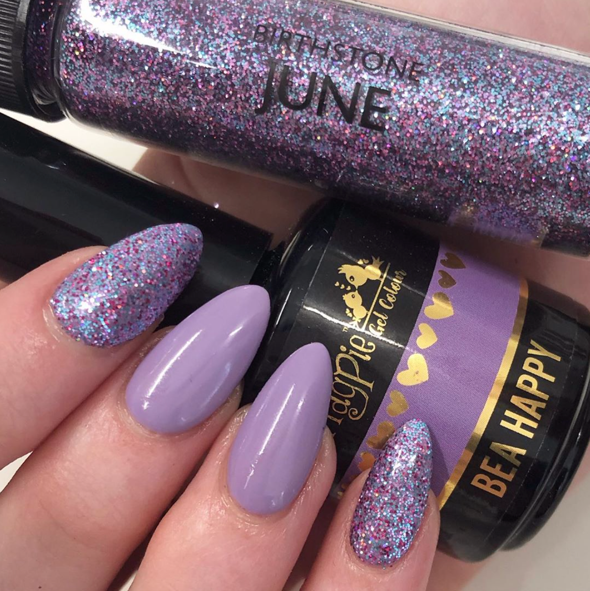 Birthstone June Glitter