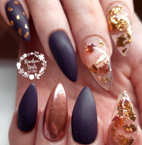 Rose Gold Leaf