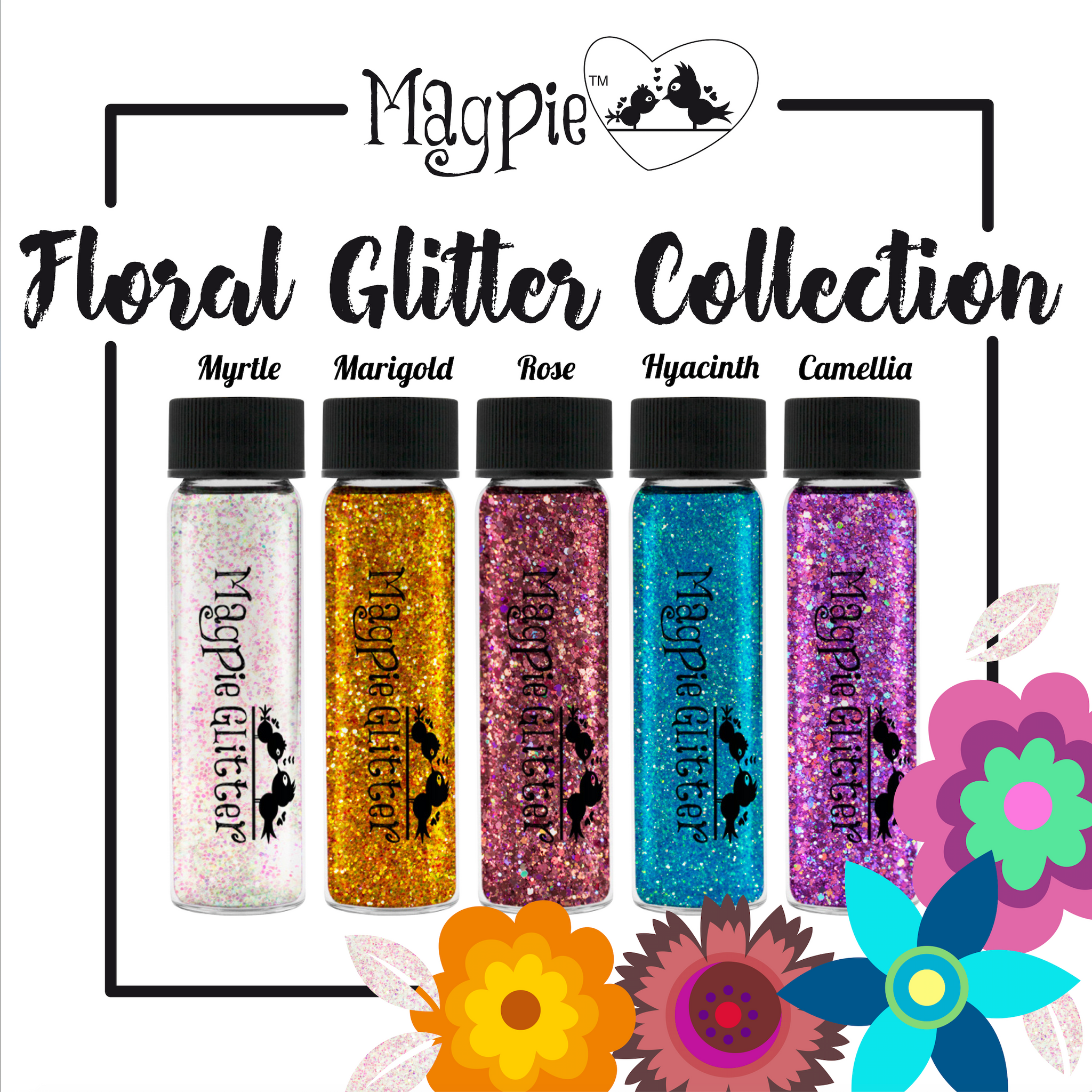 Floral Glitter collection 2019