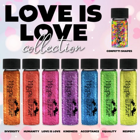 Love is Love Glitter Collection