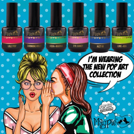 Pop Art Gel Polish Collection