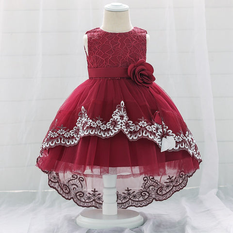 robe bebe princesse bordeaux