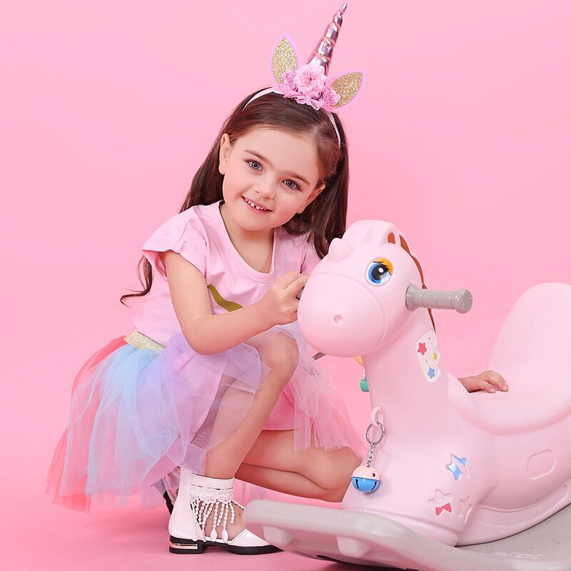 Robe licorne - Rose