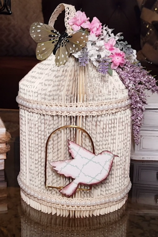 DollarTree DIY Farmhouse Birdcage