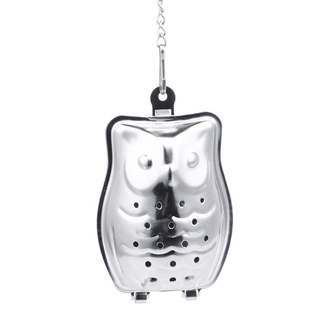 Owl Shaped Stainless Steel Tea Strainer / Infuser