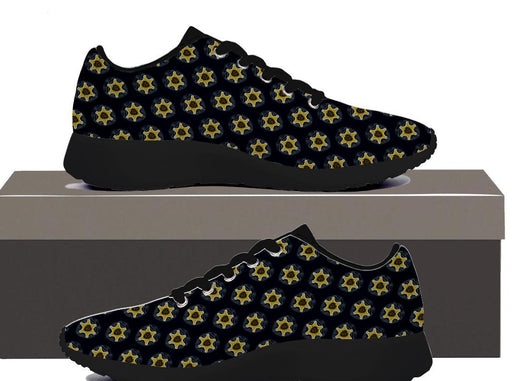 Sheriff Badge - Womens Sneakers