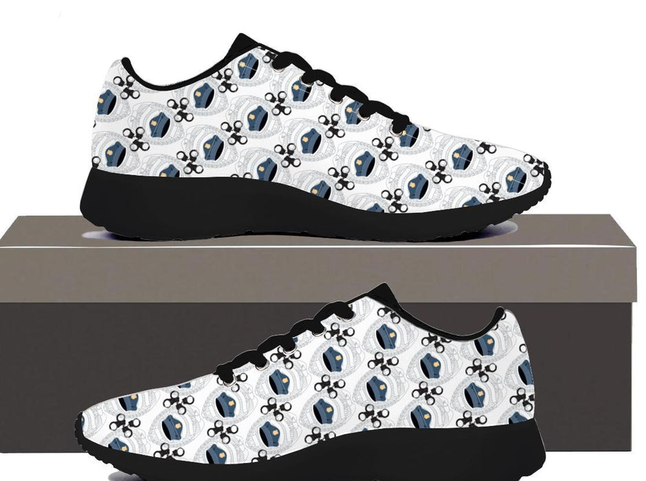 Police Hat Hand Cuffs - Womens Sneakers - AvailableGift.com