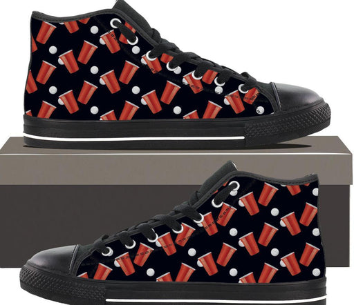 Beer Pong - Mens Hightop - AvailableGift.com