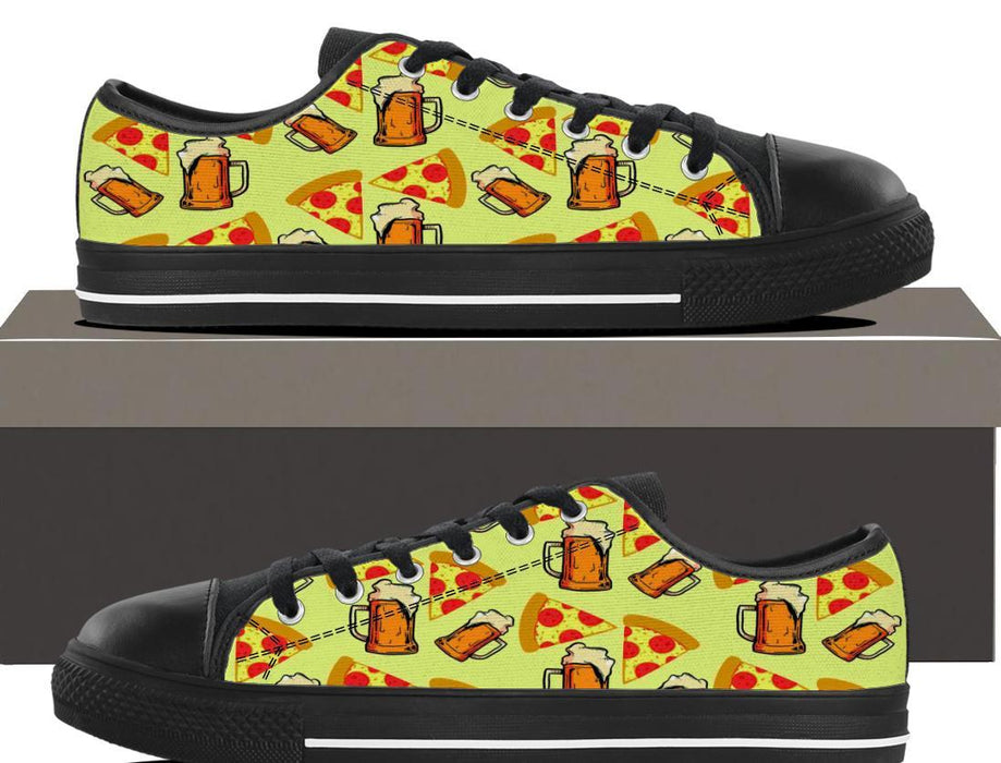 Beer And Pizza - Kids Lowtop - AvailableGift.com