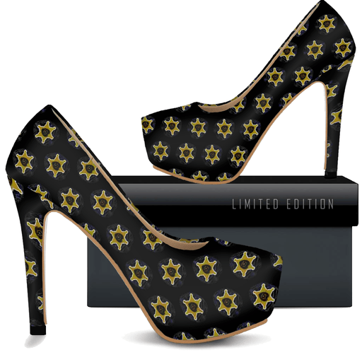 Sheriff Badge - Womans High Heels