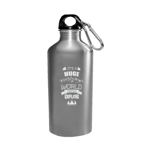 Explore The World - Water Bottle Stainless - AvailableGift.com