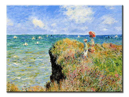 Monet Oil Painting Stock Photo 01 - 1 panel XL - AvailableGift.com