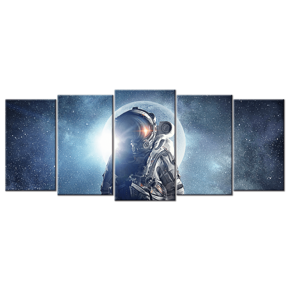 Astronaut In Outer Space - 5 Panel L - AvailableGift.com