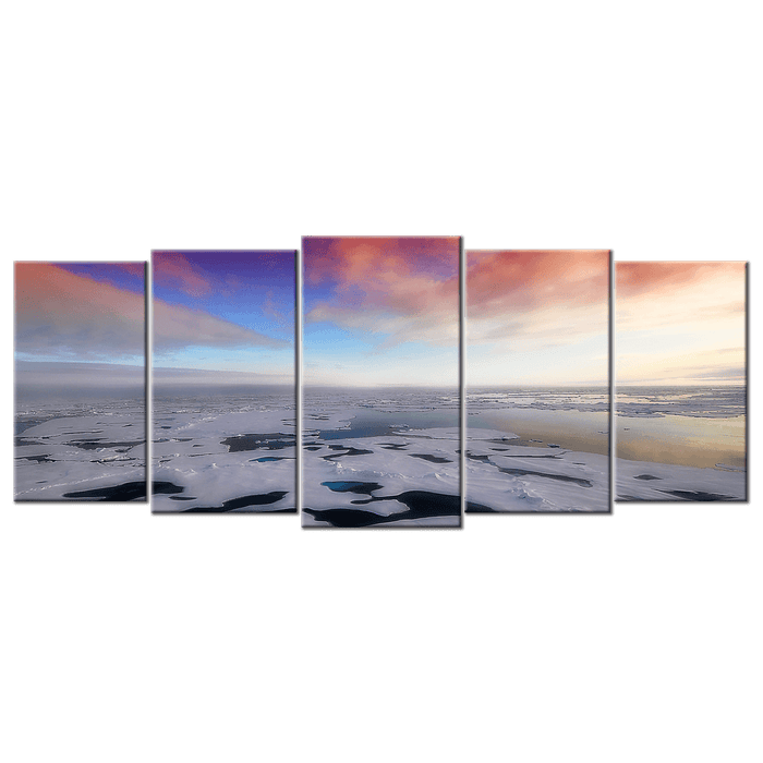 Frozen Arctic Sea - 5 Panels L - AvailableGift.com