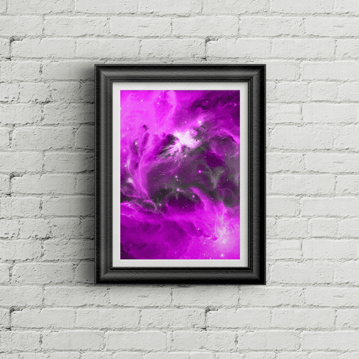 Purple Outer Space - AvailableGift.com