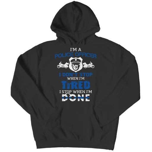 I'm A Police Officer - Youth Hoodie - AvailableGift.com