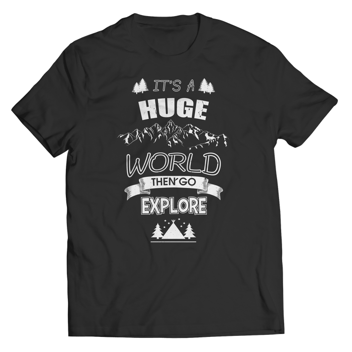Explore The World - Youth Tees - AvailableGift.com