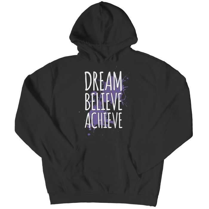 Dream Believe Achieve - Youth Hoodie - AvailableGift.com