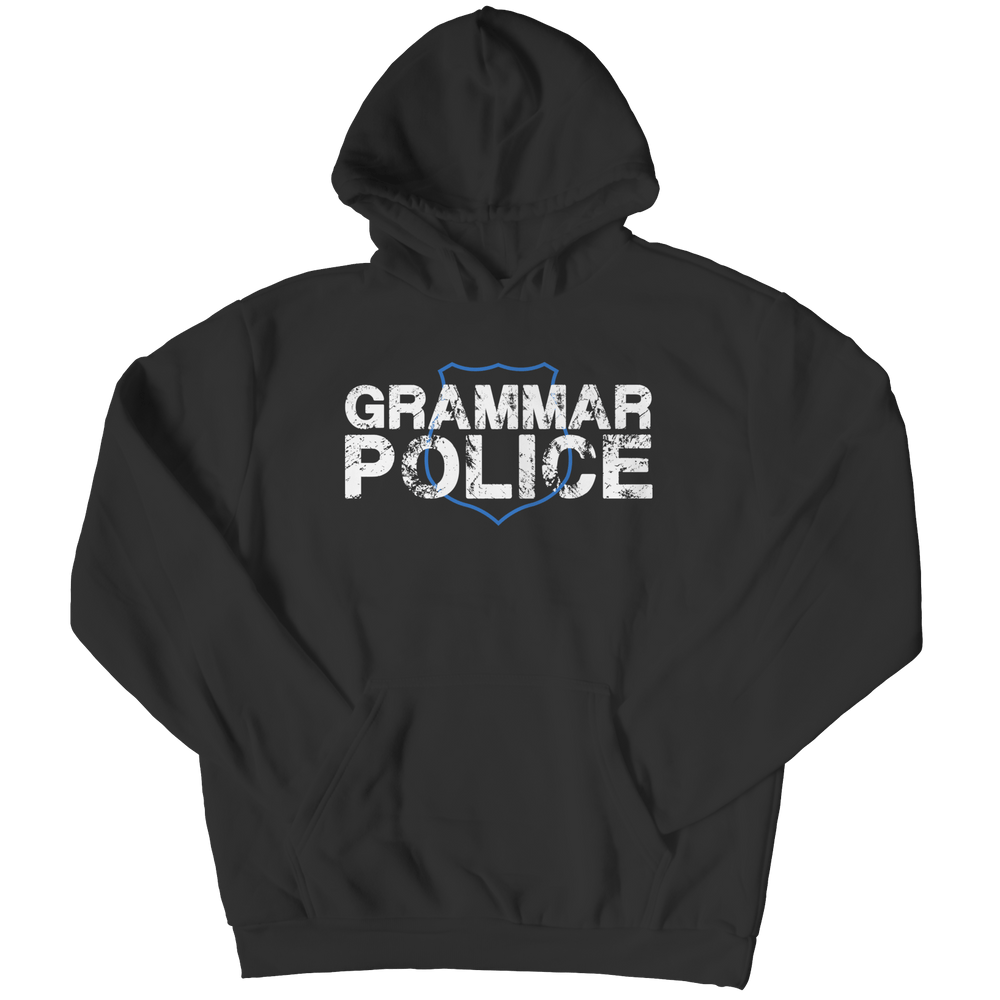 Grammar Police - Youth Hoodie - AvailableGift.com