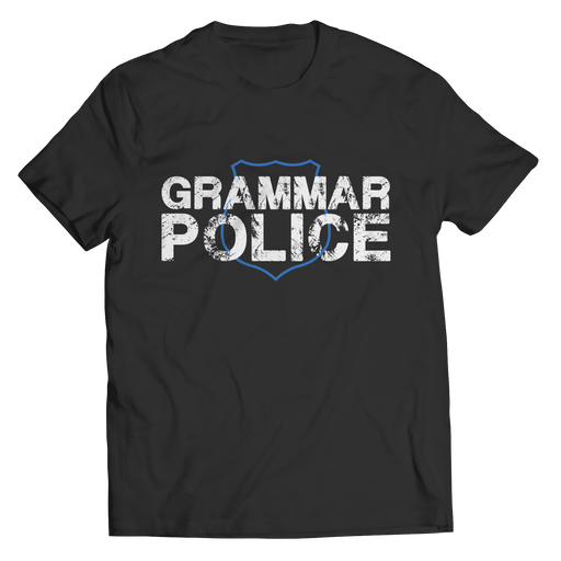Grammar Police - Youth Tees - AvailableGift.com