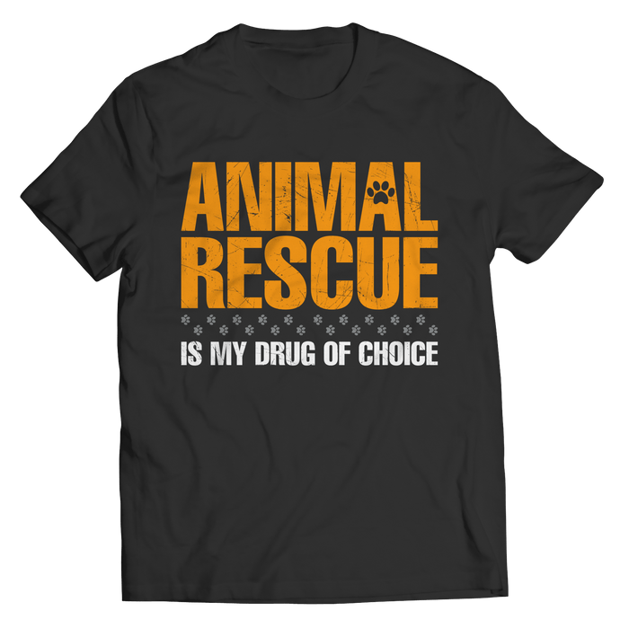 Animal Rescue Is My Drug Of Choice - AvailableGift.com