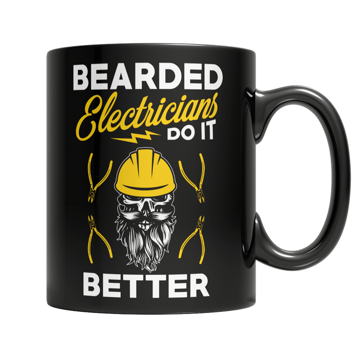 Bearded Electrician Do It Better - AvailableGift.com