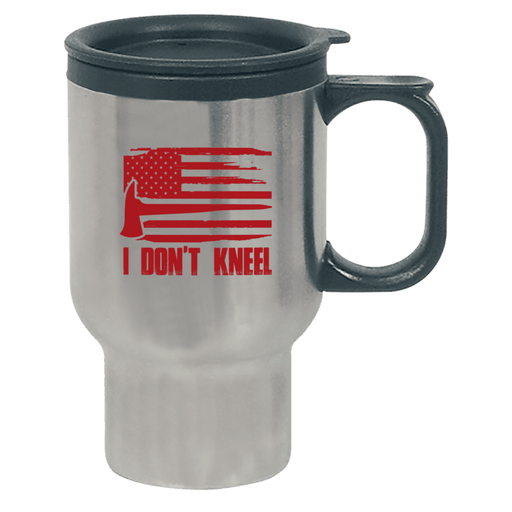 I Don't Kneel - Travel Mug - AvailableGift.com