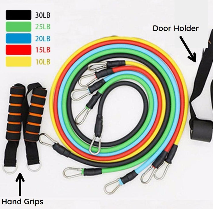 Full Resistance Bands Set (11PCS)