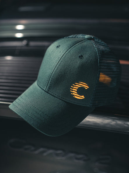 Cooled Collective Green + Gold Cap